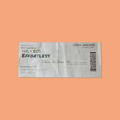 Ant Saunders - Effortless (2020)